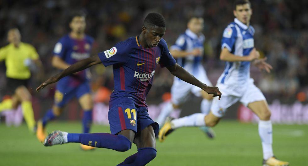 El joven delantero del Barcelona Ousmane Dembélé tiene una cláusula de rescisión de  400 millones de euros. (Foto: AFP/Reuters)