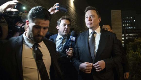 Elon Musk testificó dos días durante el proceso judicial en Los Ángeles, California. (Foto: EPA,vía BBC Mundo).