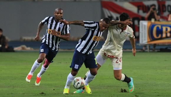 Aguirre y el tercer clásico que Alianza gana con un gol suyo