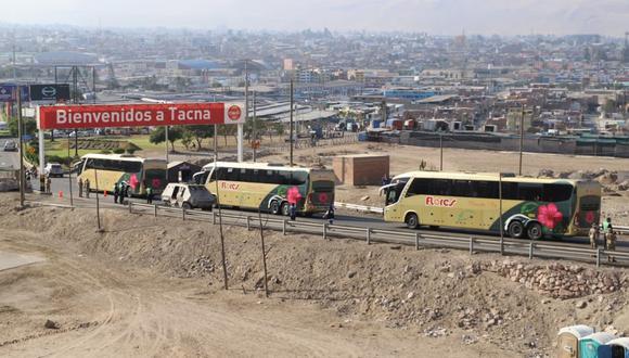 Luego de su arribo a Tacna estas personas fueron alojadas en 2 diferentes hospedajes donde pasarán aislamiento por 7 días (GRT)