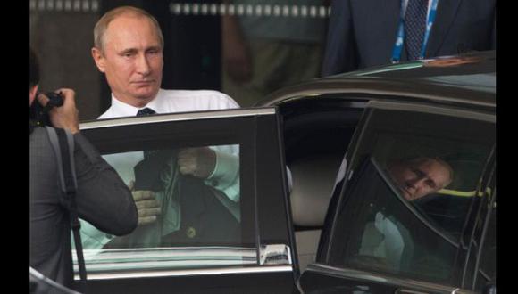 Vladimir Putin niega haber huido de la presión en el G20