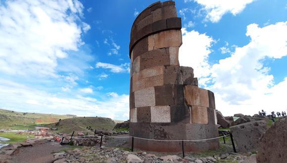 El complejo de Sillustani reabre sus puertas al turismo en Puno. (Foto: Carlos Fernández)