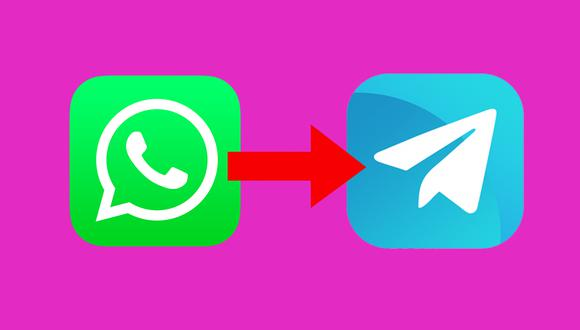 ¿Deseas mover las conversaciones de WhatsApp a Telegram? Usa estos pasos. (Foto: MAG)