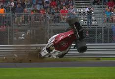 YouTube: Mira cómo acabó este aparatoso accidente en la Fórmula 1
