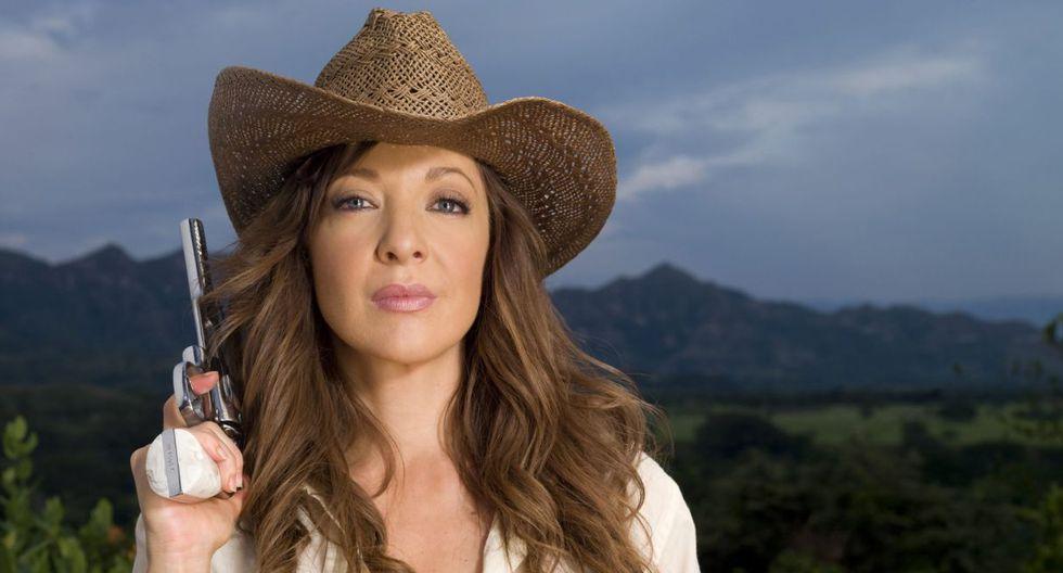 Edith González protagonizó 'Doña Bárbara' con el acto peruano Christian Meier. (Foto: EFE)