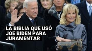 La historia de la Biblia que usó Joe Biden para juramentar
