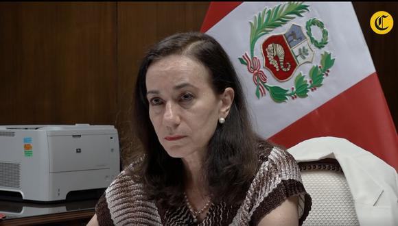 La ministra de Justicia y Derechos Humanos, Ana Teresa Revilla. (Foto: Anthony Niño de Guzmán)