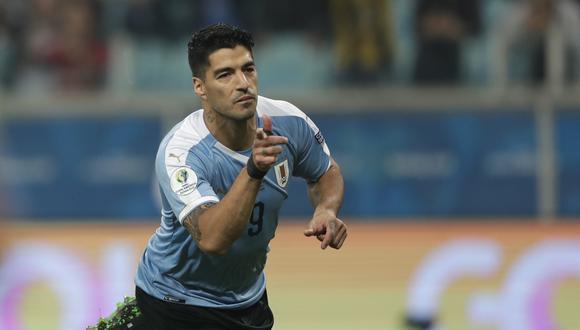 Luis Suárez es el máximo anotador de la selección de Uruguay con 63 tantos. (AP)