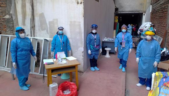 Junín: 15 trabajadores de salud dan positivo al COVID-19 en Huancayo (Foto difusión).