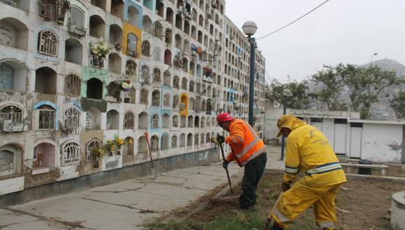Municipio inicia limpieza y recuperación del cementerio municipal más grande de Latinoamérica. (Foto: Difusión)
