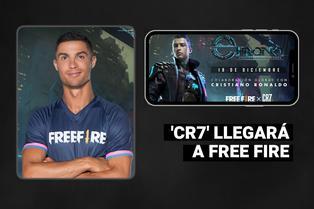 Cristiano Ronaldo será un personaje oficial de Garena Free Fire