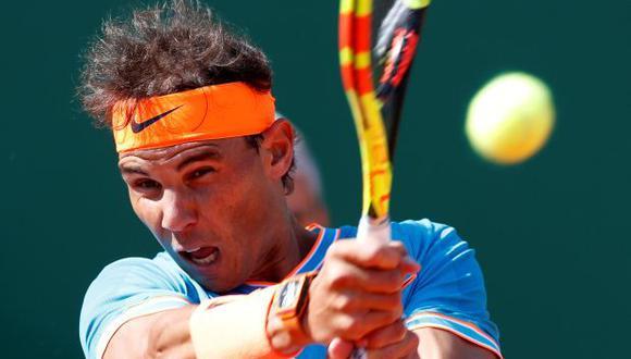 Rafael Nadal vs. Grigor Dimitrov: por los octavos de final del ATP Montecarlo 2019. | Foto: AFP