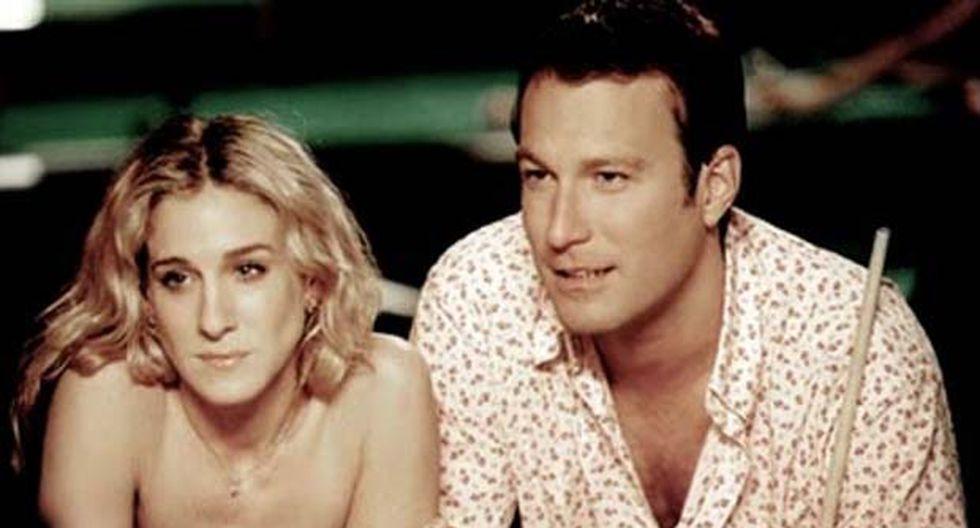 """En """"Sex and the City"""", Carrie y Aidan concluyen su relación a pesar de estar comprometidos. (Foto: Difusión/HBO)"""
