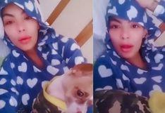 Angie Jibaja sufrió hemorragia interna por intentar bailar en Tik Tok | VIDEO