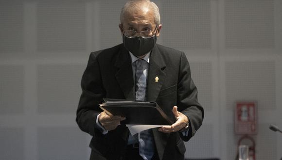 Pedro Chávarry había sido suspendido de su función tanto por la JNJ como por el Poder Judicial. (Foto: GEC)