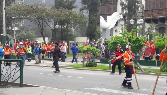 La SNMPE señaló que la huelga convocado por los trabajadores mineros fracasó porque las unidades mineras en el país operaron con normalidad. (Foto: GEC)