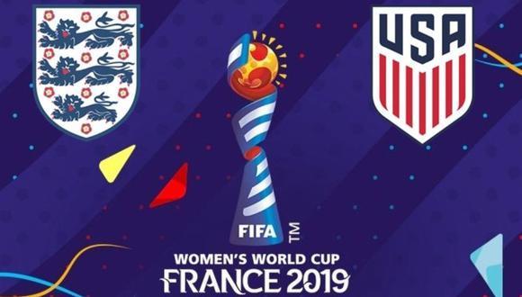Estados Unidos vs. Inglaterra EN VIVO vía DirecTV Sports: por semifinales del Mundial Femenino Francia 2019. (Foto: AFP)