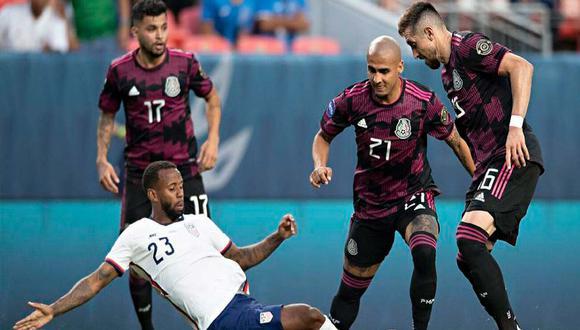 México vs. Estados Unidos definen al campeón de la Copa Oro 2021 | Foto: Imago7.