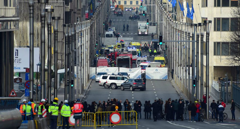 Bruselas: Los daños por los ataques terroristas en imágenes - 12