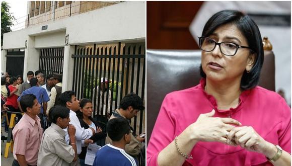 Sylvia Cáceres, ministra de Trabajo y Promoción del Empleo. (Foto: Archivo El Comercio)
