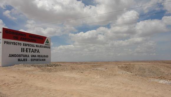 Majes-Siguas II: Hoy se coloca la primera piedra del proyecto