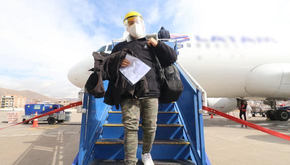 Con la fase tres de la reactivación económica se reiniciaron los vuelos domésticos en el país. (Foto: Juan Sequeiros   GEC)
