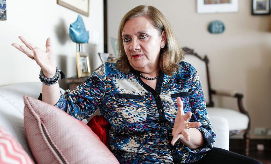 Carmen McEvoy pasó de ser nuestra embajadora en Irlanda a presidir la comisión del bicentenario. (Foto: César Campos/GEC)
