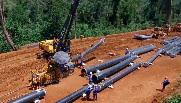 Proyecto Gasoducto Sur para transportar gas natural. El primer tramo de la obra se calcula que se terminará en (Foto:Difusión)
