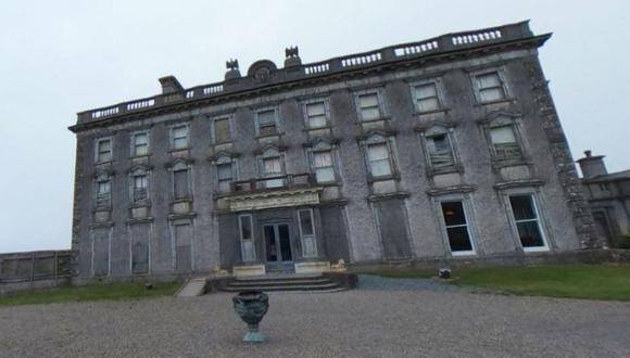 Imagen de la famosa mansión de Loftus Hall, en Irlanda, donde se dice ocurren fenómenos paranormales   Foto: Google Maps