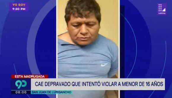 Gerardo Álvarez Ticona será denunciado por tentativa de violación sexual. (Captura: Latina)