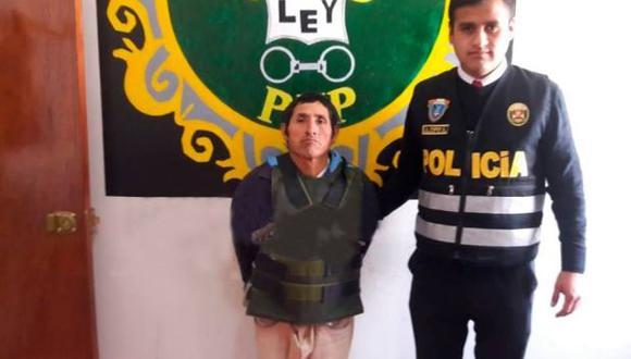Pasco: policía captura a sujeto acusado de violar a su hijastra