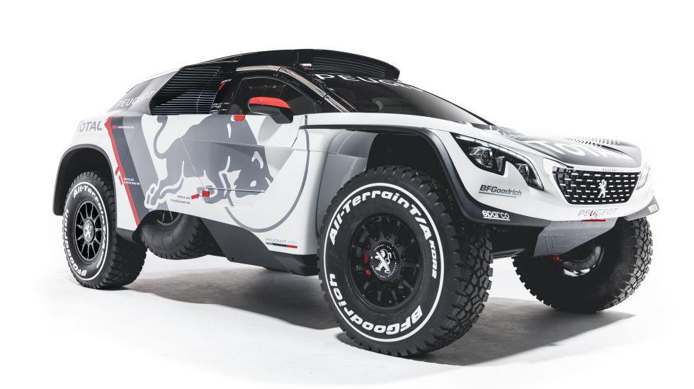 Este es el nuevo Peugeot 3008 DKR, vehículo con el cual el Team Peugeot Total intentará repetir en enero del próximo año el triunfo conseguido en la categoría Autos del Rally Dakar 2016. (Fotos: Red Bull)
