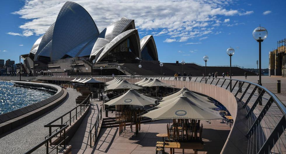 Sydney on lockdown for two weeks due to an outbreak of the Delta variant of Coronavirus
