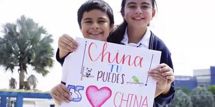 Coronavirus: niños de América Latina expresan su apoyo a China por el virus