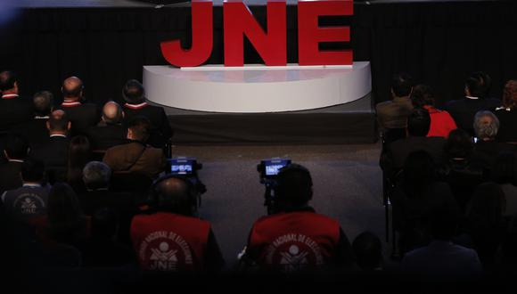 Jorge Luis Salas señaló que los partidos políticos eligieron a los 5 integrantes del Tribunal de Honor para las elecciones 2021. (Foto: Anthony Niño de Guzmán / GEC)