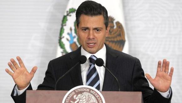 """México: Peña Nieto pide """"no quedar atrapados"""" en caso Iguala"""