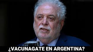 ¿'Vacunagate' en Argentina?: vacunados VIP fueron beneficiados por el ministro de Salud