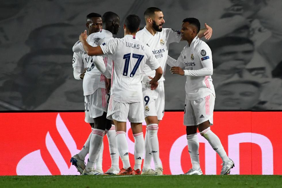 Rodrygo convirtió el 3-2 a favor del Real Madrid