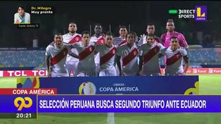 Copa América: Selección busca el segundo triunfo ante Ecuador