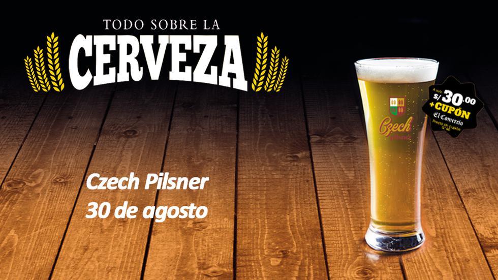 La clásica Pilsen originaria de la República Checa. El vaso elegante y alargado  que permite disfrutar el aroma del lúpulo presente en esta cerveza.