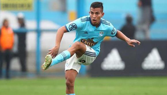 Távara, de 21 años, es una de las promesas de Sporting Cristal. (Foto: GEC)