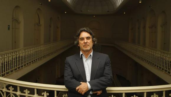 Pedro Pablo Alayza, Presidente de la Asociación Nacional de Museos del Perú, alerta sobre los riesgos que supone nuevo marco legal para estas instituciones en el país.  (Foto: Roberto Cáceres)