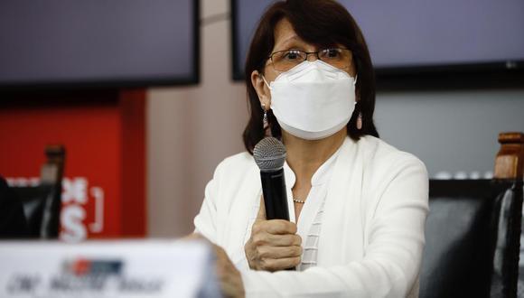 La ministra de Salud, Pilar Mazzetti, anunció medidas para impedir el avance del COVID-19. (GEC)