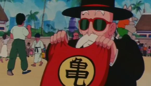"""El origen del traje de la Escuela de la Tortuga del maestro Roshi en """"Dragon Ball"""" (Foto: Toei Animation)"""