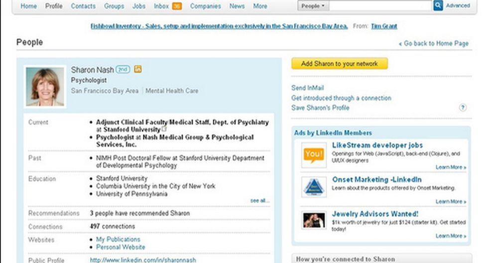 LinkedIn podría determinar si un usuario miente en su CV
