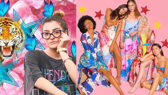 """La anterior colección de Camille Defago fue bautizada como Madreselva. Este miércoles, presentará """"Olympia"""", en el Panamá Fashion Week. (Fotos: IG/ @camilledefago, @bycamilledefago)"""