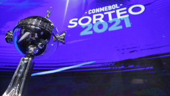 Se viene este martes 1 de junio el sorteo de octavos de final de la Copa Libertadores 2021. (Foto: AFP)