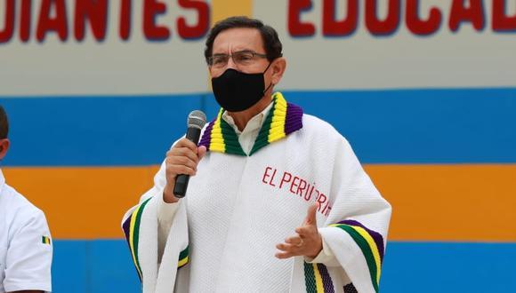 Presidente Vizcarra ha sido citado para el 3 de noviembre por el fiscal Germán Juárez (Foto: Presidencia)