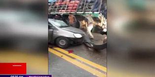 Junín: tres personas murieron en choque de tráiler y automóvil en la Carretera Central