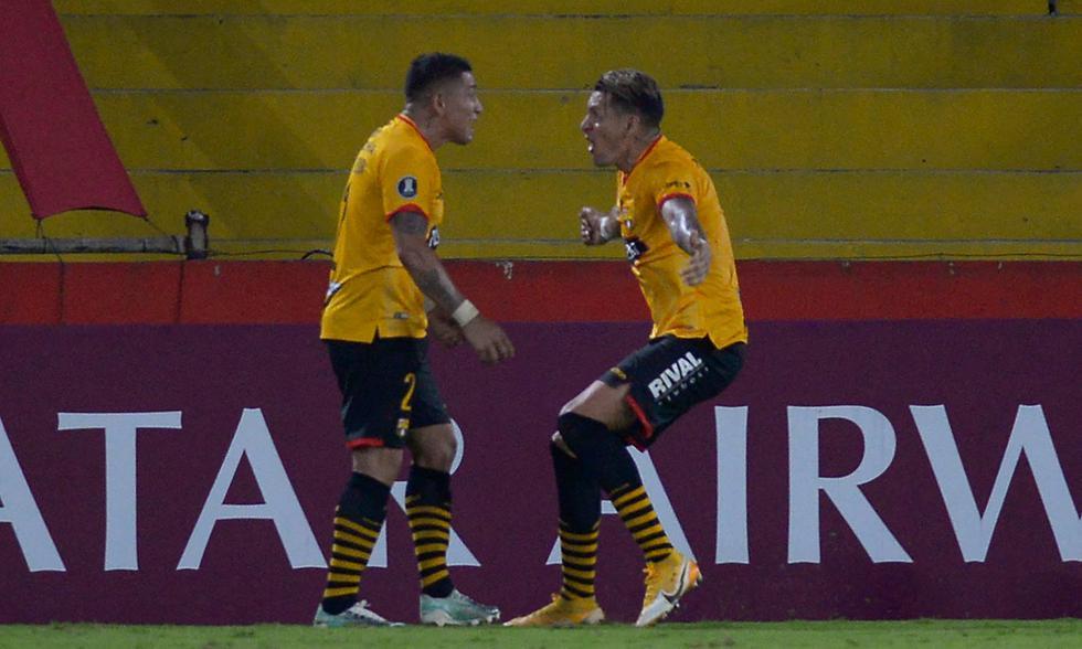 Barcelona SC derrotó a Boca Juniors con gol de Carlos Garcés | Foto: AFP